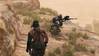 MGS5 - Ep.28 Code Talker - No Traces CQC only Perfect Stealth