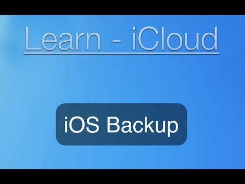 iCloud Tutorial: iPhone and iPad Backup