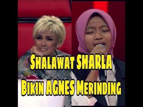 Sharla Bikin AGNESMO Merinding dengar shalawat Ya Rasulullah