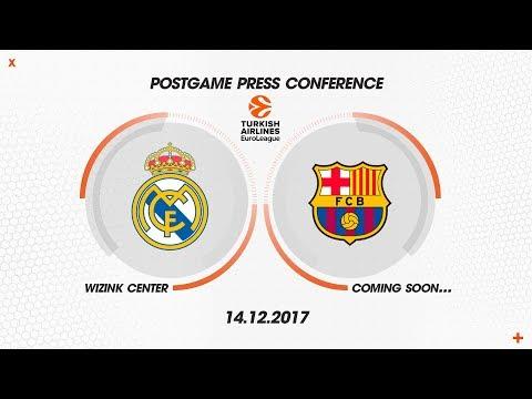 POST PRESS CONFERENCE REAL MADRID - BARCELONA LASSA
