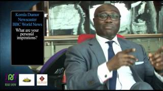 Komla Dumor speaking on Going Global during the Koforidua edtion of Springboard 2013 Road Show