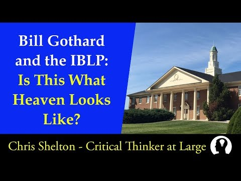 Bill Gothard and the IBLP: Is This What Heaven Looks Like?