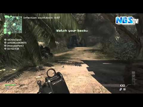 MW3: Infected and Insane Infected Mashup with Friends - UNCUT