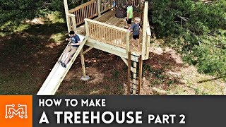 how-to-make-a-treehouse-part-2