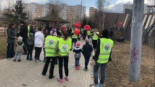 Жители Люблино против строительства дома в Москве.Новороссийская 25 / LIVE 07.04.19