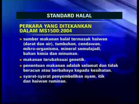 Kenali Standard Halal Malaysia MS1500:2009 dan pensijilan halal malaysia