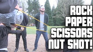 Rock, Paper, Scissors, Nut Shot! | WheresMyChallenge w/ TheLazyGeneration