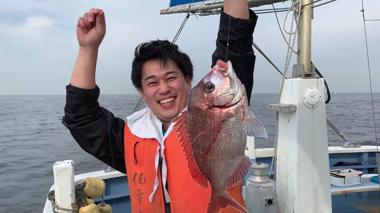 【マダイ】三浦半島にて人生初の船釣り&鯛釣りに挑戦!!!