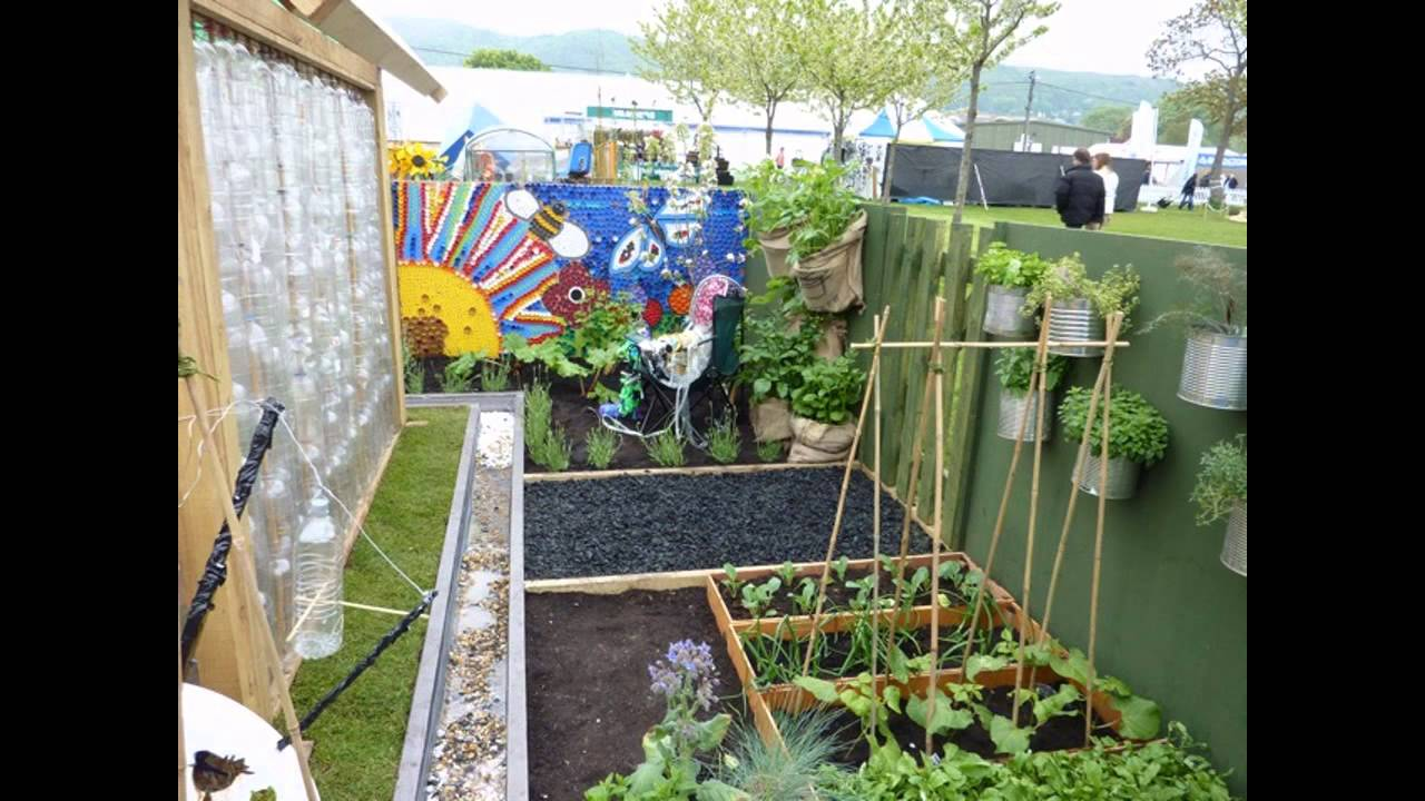 Simple School garden ideas - YouTube