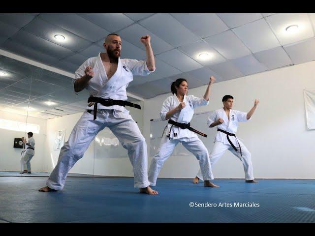 Integrantes de Dojo 'Ki No Se Kai' Karate Kyokushin se preparan a reto en Canadá