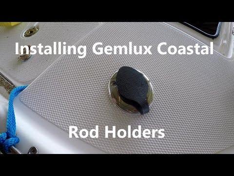 Installing Gemlux Coastal Rod Holders