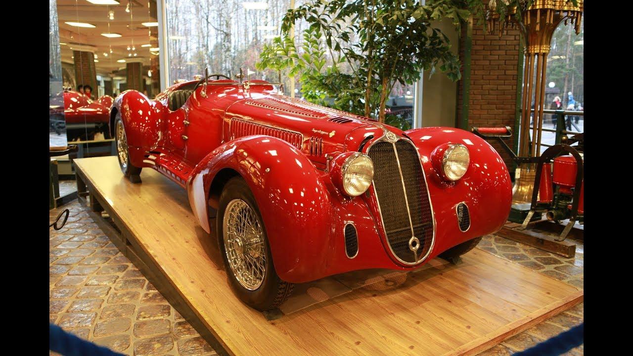 Реставрация автомобиля Alfa Romeo 8С2900