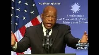 John Lewis and the National Museum of African American History and Culture