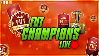 FUT Champions & New FUTMAS Live - Can We Get To Gold 1 This Weekend?? - Fifa 19