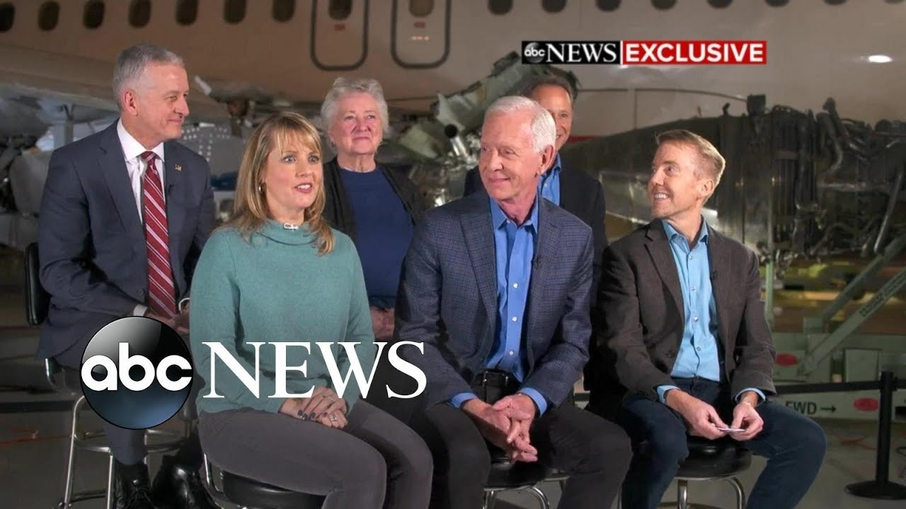Sully Reunites With Passengers 10 Years After Miracle Landing Youtube