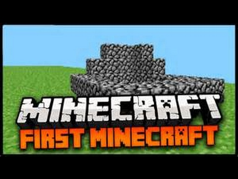 the very first version of minecraft