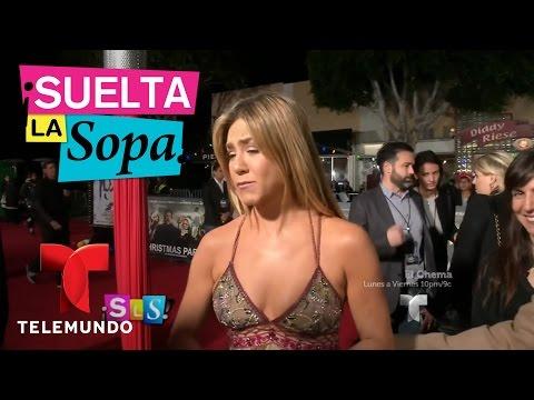 Suelta La Sopa | Jennifer Aniston presentó su nueva película Office Christmas | Entretenimiento