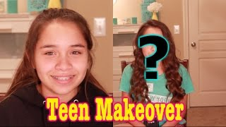 makeover on 13 year old teenager makeup for young teen