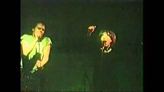 Björk Guðmundsdóttir, - KUKL - Early Live Gig On Stage (1984) - [Betamax Rip HD]
