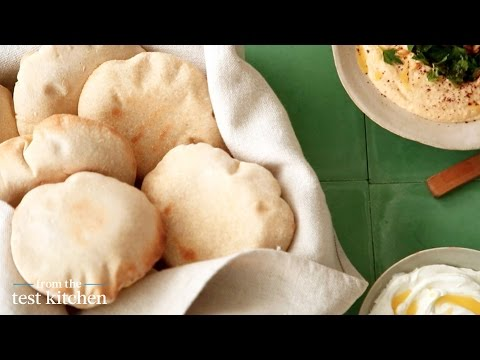 Homemade Pocket Pitas - From the Test Kitchen