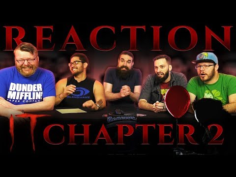 IT CHAPTER TWO - Official Teaser Trailer REACTION!!