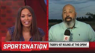 Michael Collins details Tiger Woods