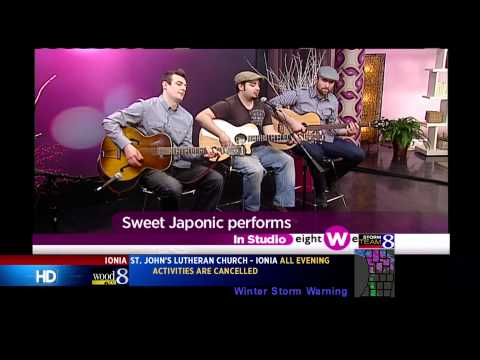 "Sweet J acoustic live on WOOD TV 8's ""Eight West"""