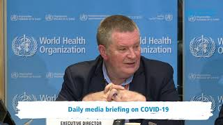 Live from WHO HQ - Daily Press Briefing on COVID-19 --Coronavirus 05MARCH2020