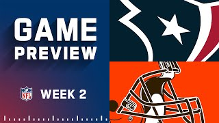 Houston Texans vs. Cleveland Browns   Week 2 NFL Game Preview