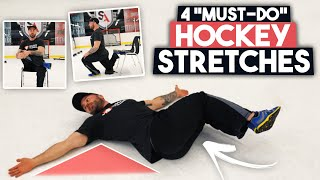 4 Hockey Stretches For Better Agility - Unlock Your Hips