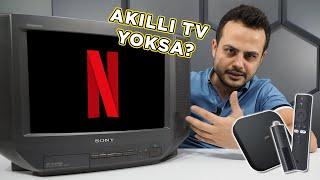 TÜPLÜ TELEVİZYONU AKILLI TV YAPTIM! | XIAOMI MI TV STICK & XIAOMI MI BOX S