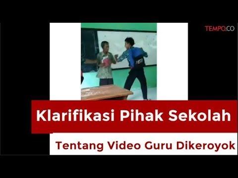 Viral, Klarifikasi Pihak Sekolah Tentang Video Guru yang Dikeroyok