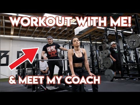 WORKOUT WITH ME! & Meet My Coach Ft. Omar Isuf