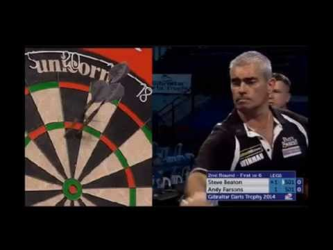 PDC Gibraltar Darts Trophy 2014 - Second Round - Steve Beaton vs. Andy Parsons