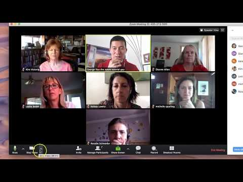 How To Use Zoom (plus Breakout Groups) -- Favorite Video Conferencing Platform
