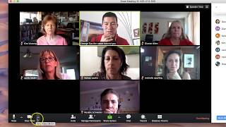Zoom Meeting: How To Use (with example of a Breakout Group)