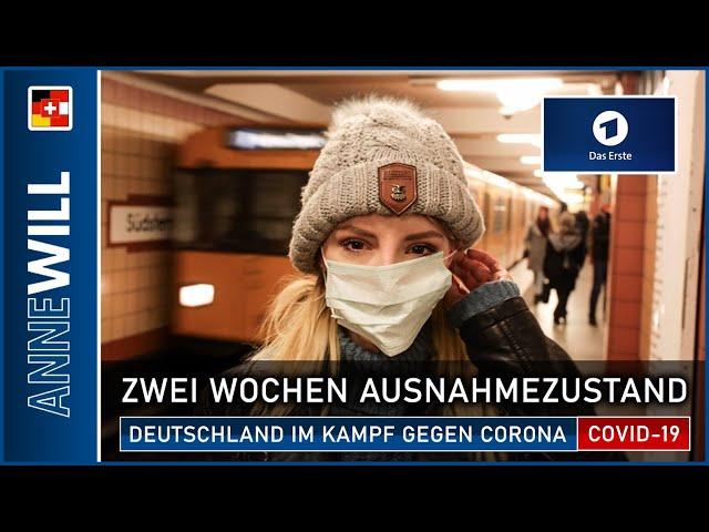 Anne Will - 05.04.2020 - Deutschland gegen den Virus (ARD)