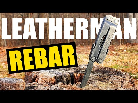 LEATHERMAN Rebar 17-Tool (Everyday Carry Multi-Tool REVIEW)