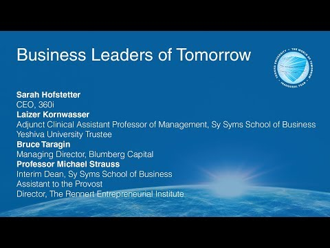YU and the World of Tomorrow: Business Leaders of Tomorrow