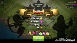 Farming session #4 LOOT EN MASSE / Clash of clans