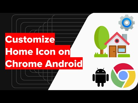 How to Change Home Icon URL on Chrome Android?
