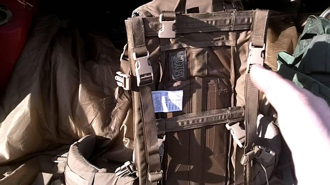 Mystery Ranch NICE Frame vs ALICE military frame - YouTube
