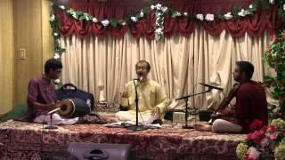 Ninna Nera in Raga Panthuvarali (kamavardhini) by Sri Sankaran Namboothiri