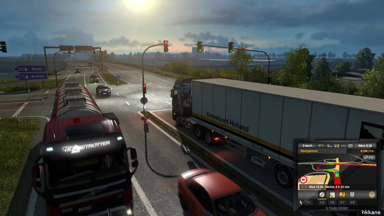Euro truck simulator 2 promods v1 96 gameplay p 70 doovi