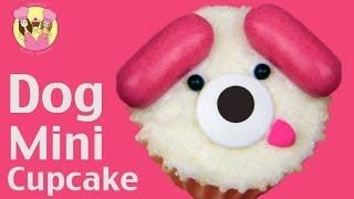 PUPPY DOG MINI CUPCAKES - Cute Kids Cupcake Decorating Idea