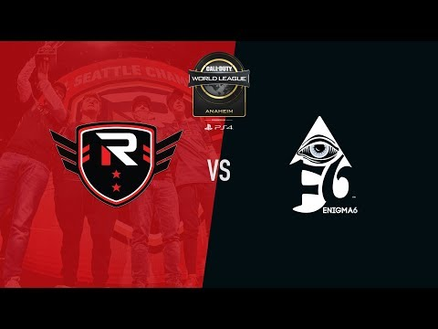 Rise Nation vs Enigma6 | CWL Anaheim 2018 | Day 2