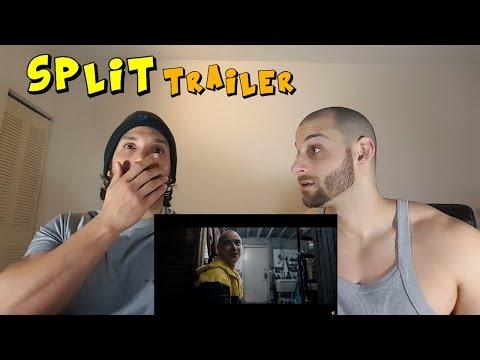 SPLIT Official Trailer [REACTION]