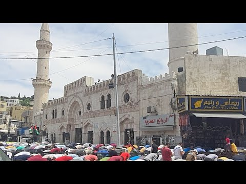 تظاهرة في عمان نصرة لحي الشيخ جراح  - نشر قبل 2 ساعة