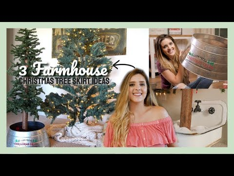 3 DIY Christmas Tree Skirt Ideas That Are NOT Tree Skirts