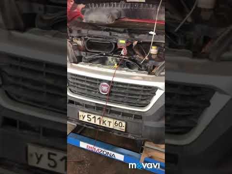 Fiat Ducato не заводится нет зарядки не работают Свечи накала